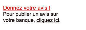 Avis sur ma banque