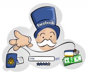 banque et facebook