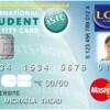 carte bleue isic au lcl
