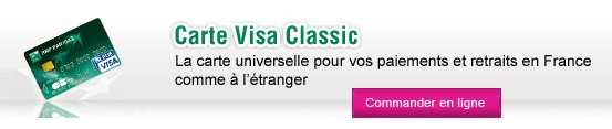 carte visa clsssic bnp paribas