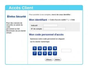 accès compte en banque personnel LCL