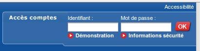 Acces comptes Crédit Mutuel