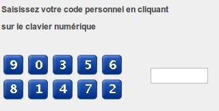 Code secret LCL