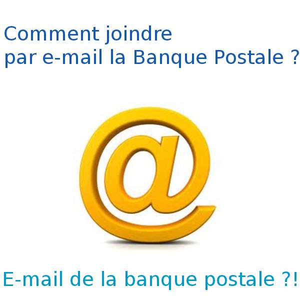 Mail banque postale