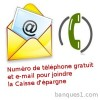 Telephone email caisse epargne