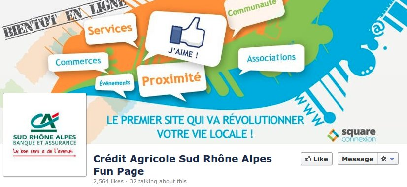 Facebook credit agricole