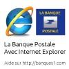 Banque Postale internet explorer
