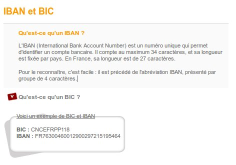 Iban et swift