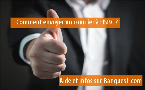 envioyer une lettre à HSBC