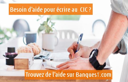 écrire au CIC
