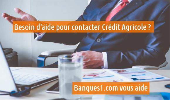 contacter le Crédit Agricole
