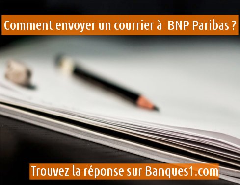 courrier BNP Paribas