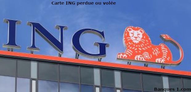 Perte carte ING Direct