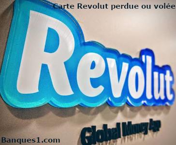 Carte Revolut perdue ou volée