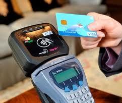 Carte bancaire sans contact