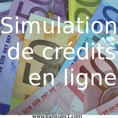 Simulation de crédit en ligne